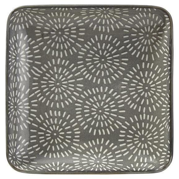 Pladenj Nina - siva, keramika (12,5cm) - Mömax modern living