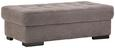 Hocker Grau - KONVENTIONELL, Holzwerkstoff (128/42/68cm) - Premium Living