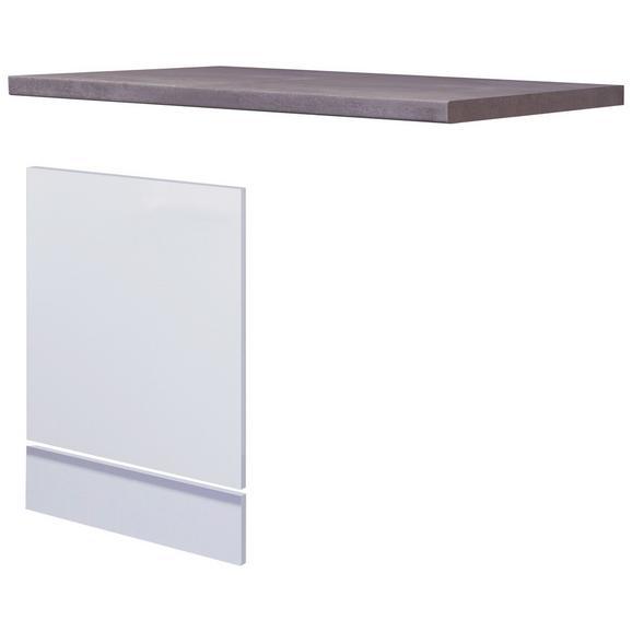 Küchenunterschrank Weiß - Weiß, MODERN, Holzwerkstoff (110/60cm) - FlexWell.ai