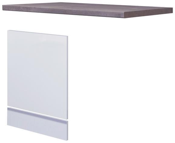 Küchenunterschrank Weiß - Weiß, MODERN, Holzwerkstoff (110/60cm)
