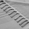 2-in-1 XL Hamamtuch mit Frottierseite - Grau, MODERN, Textil (100/200cm) - MÖMAX modern living