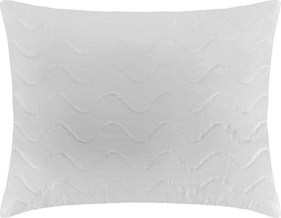 Kissen Niki - Weiß, Textil (80/80cm) - Nadana