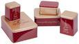 KEKSDOSENSET Becca Rot/Kupferfarben - Rot/Kupferfarben, Metall - Mömax modern living