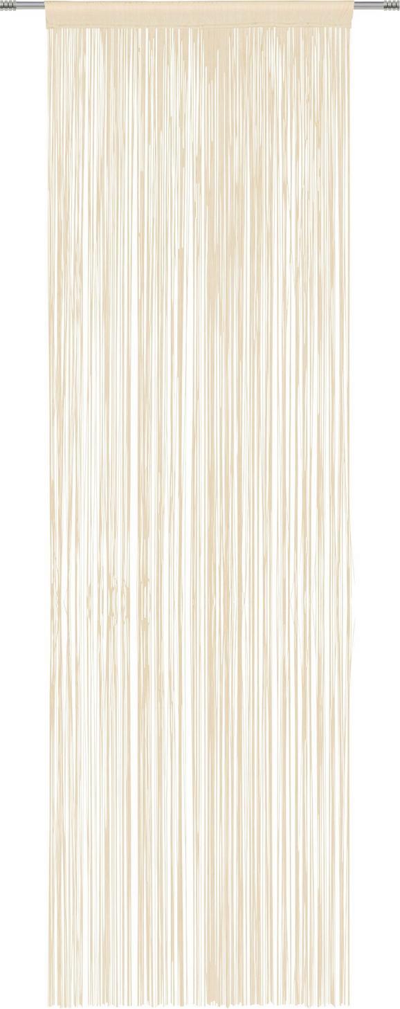 Fadenstore Victoria Creme - Creme, Textil (90/245cm) - Mömax modern living