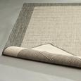 Flachwebeteppich Brüssel in Grau ca. 160x230cm - Grau, MODERN, Textil (160/230cm)