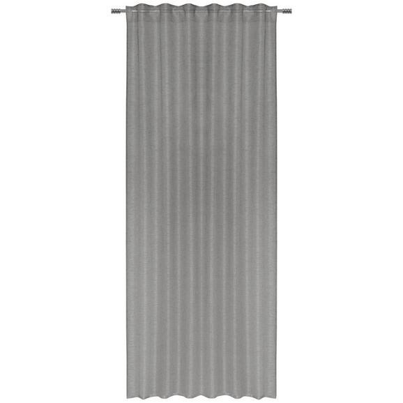 Končana Zavesa Elena - antracit, tekstil (140/255cm) - Mömax modern living
