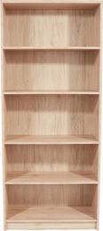 Regal 4-you Yur03 - hrast, leseni material (74/189,5/34,6cm) - Mömax modern living