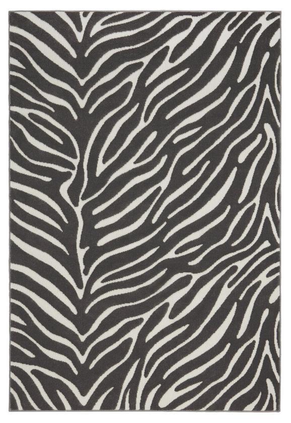 Webteppich Kaduna 160x230cm - Dunkelgrau/Creme, LIFESTYLE, Textil (160/230cm) - Mömax modern living
