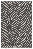 Webteppich Kaduna - Dunkelgrau/Creme, LIFESTYLE, Textil (160/230cm) - Mömax modern living