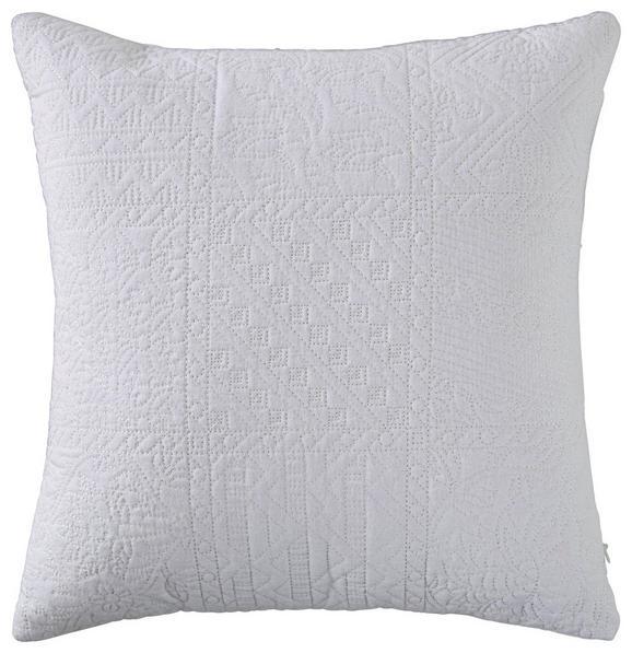 Zierkissen Desiree in Weiß, ca. 43x43cm - Weiß, ROMANTIK / LANDHAUS, Textil (43/43cm) - Mömax modern living