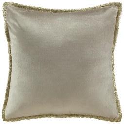 Zierkissen Janet 45x45cm - Beige/Goldfarben, LIFESTYLE, Textil (45/45cm) - Premium Living