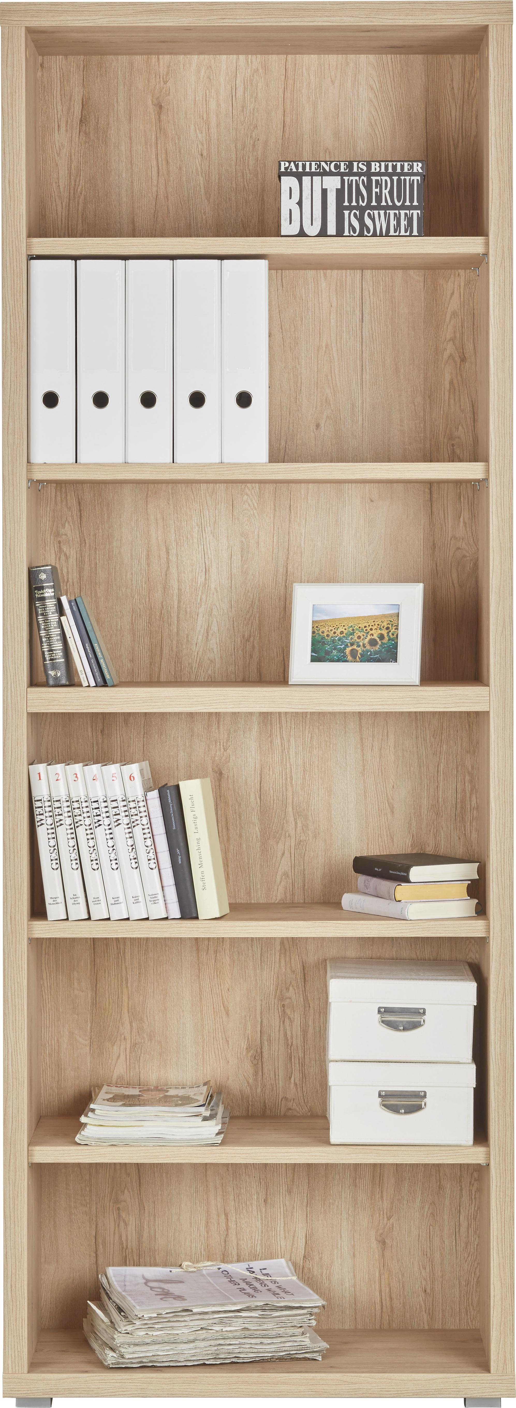 Regal In Sanremo Eiche - MODERN, Holz (80/220/36cm) - MÖMAX modern living