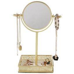 Stojalo Za Nakit Kim - zlata, kovina (20,50/15,39/29,50cm) - Mömax modern living