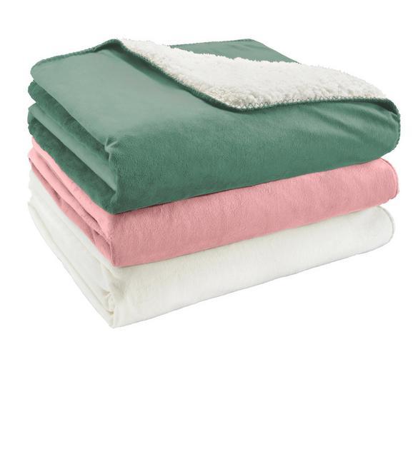 Kuscheldecke Dolly Verschiedene Farben - Beige/Hellgrün, Textil (150/200cm) - Mömax modern living