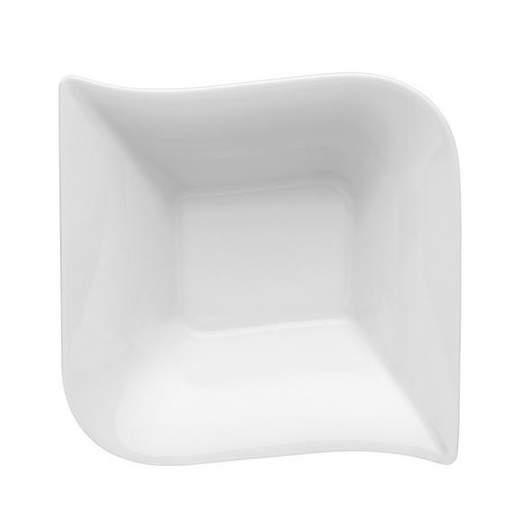 Salatschüssel Opera Weiß - Weiß, MODERN, Keramik (23/7/23cm) - Mömax modern living