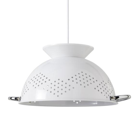 Hängeleuchte Noodles max. Watt 40 - Weiß, LIFESTYLE, Keramik (38/150cm) - Modern Living