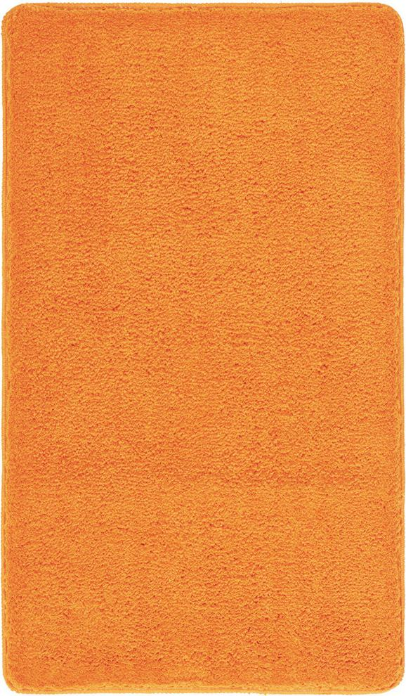 Badematte Christina Orange - Orange, Textil (70/120cm) - Mömax modern living