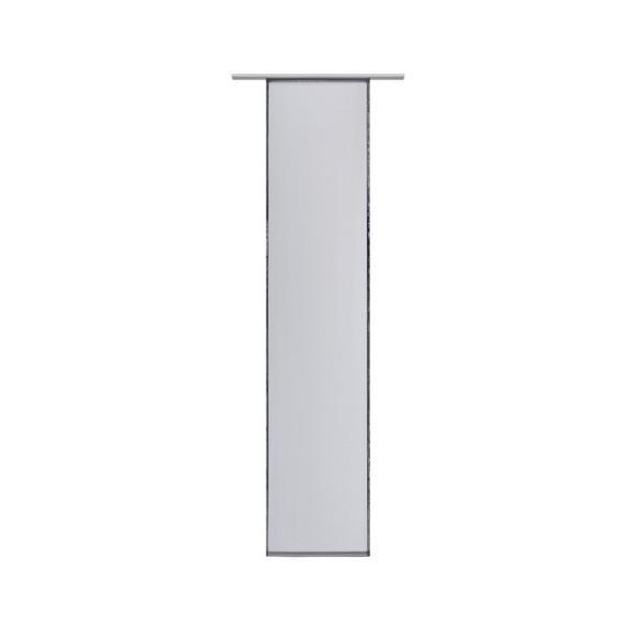 Draperie Panou Flipp Vual - antracit, textil (60/245cm) - Based