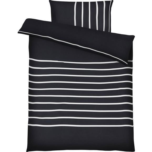 Bettwäsche Tamara ca. 140x200cm - Schwarz, MODERN, Textil (140/200cm) - Mömax modern living