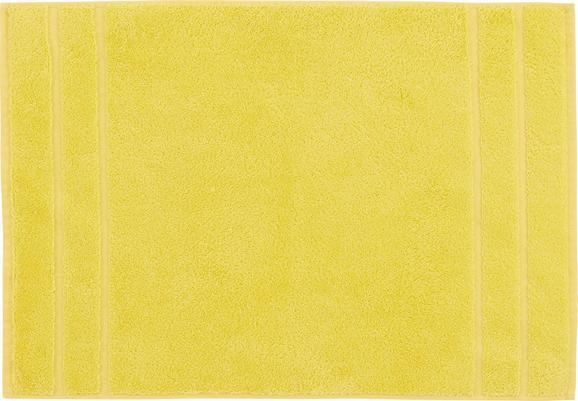 Badematte Melanie Gelb - Gelb, Textil (50/70cm)