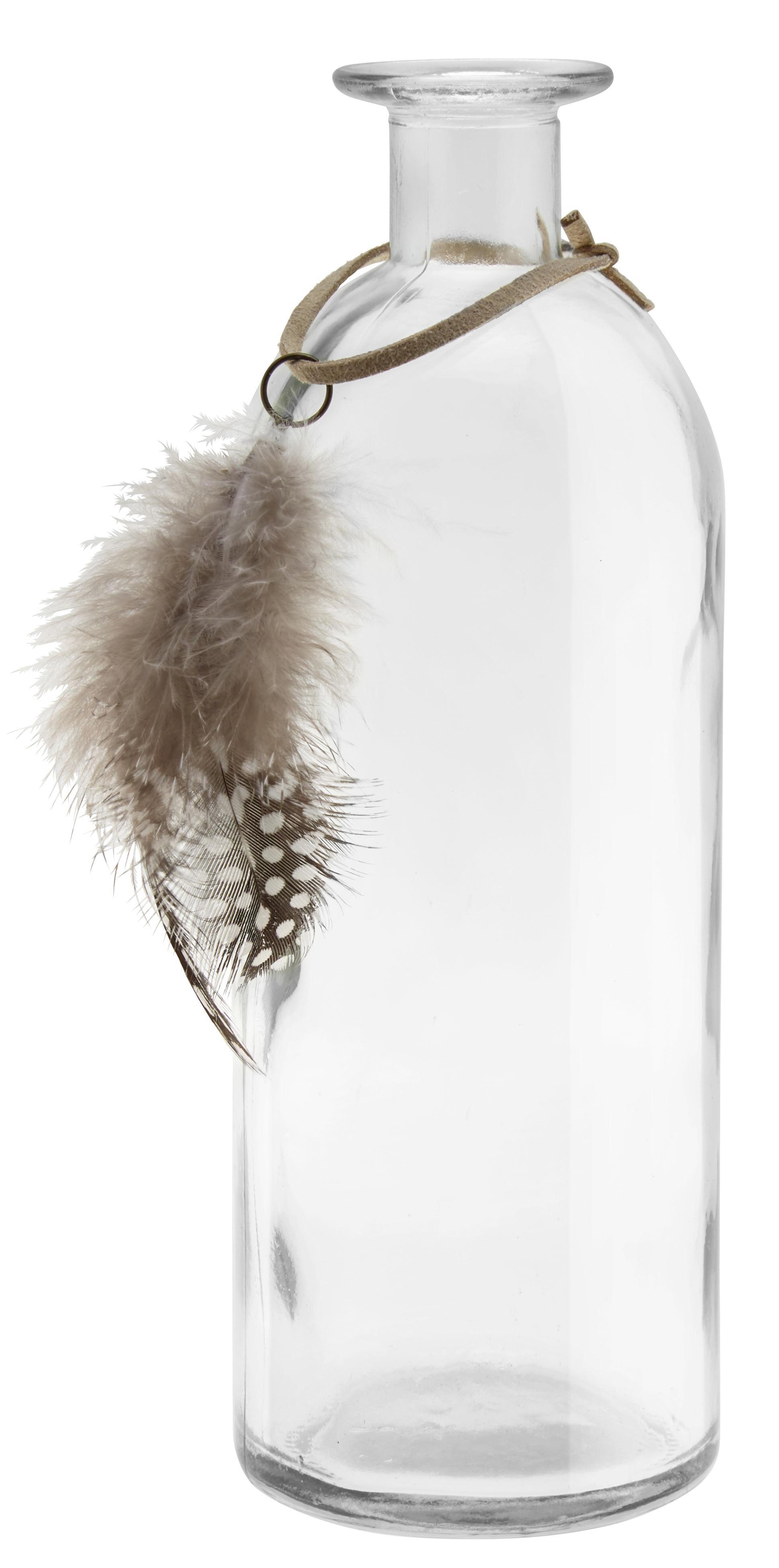 Váza Maja - modern, további természetes anyagok/üveg (7/21cm)