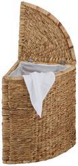 Wäschetonne Toni in Naturfarben - Naturfarben, ROMANTIK / LANDHAUS, Weitere Naturmaterialien/Textil (39/56/39cm) - MÖMAX modern living