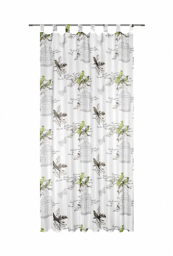 Készfüggöny Romana - Zöld, romantikus/Landhaus, Textil (140/245cm) - Mömax modern living