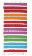 Handwepteppich Marani 70x140 cm - Blau/Pink, Textil (70/140cm) - Mömax modern living