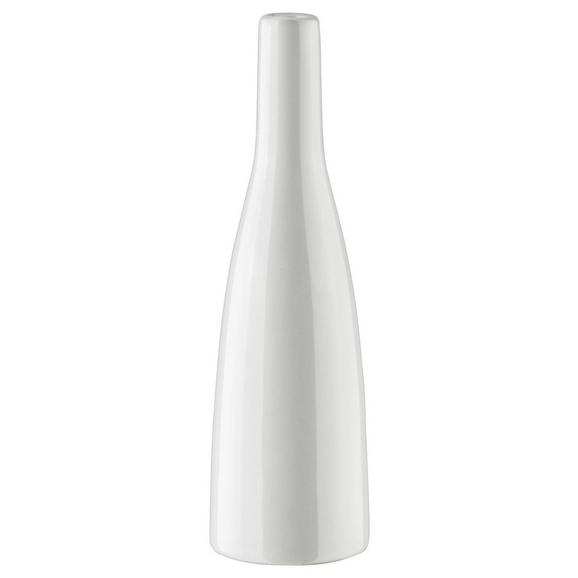 Vase Plancio in Weiß - Weiß, MODERN, Keramik (20.5cm) - Mömax modern living