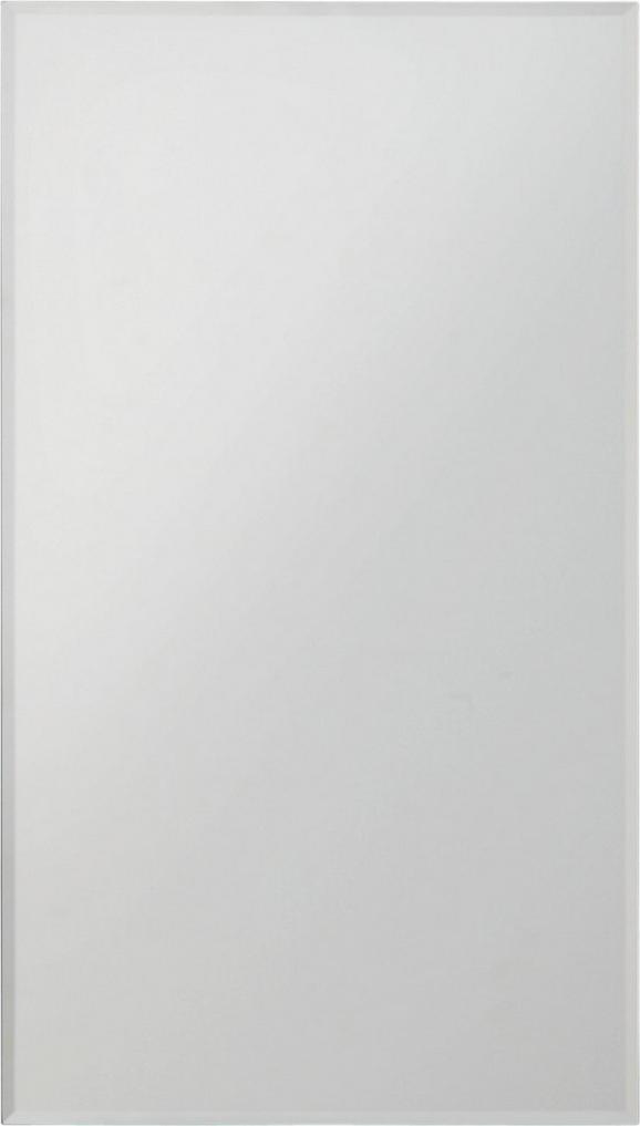 Fazettázott Tükör Messina    -sb- - Ezüst, konvencionális (25/45cm)