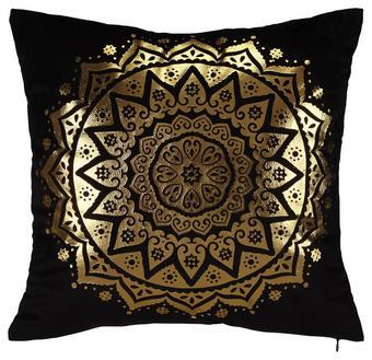 Okrasna Blazina Marokko - črna, Trendi, tekstil (45/45cm) - Mömax modern living