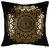 Zierkissen Marokko Schwarz/gold 45x45cm - Schwarz, LIFESTYLE, Textil (45/45cm) - MÖMAX modern living