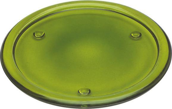 Podstavek Za Svečo Evelyn - lila/rdeča, Konvencionalno, steklo (18,5cm) - Mömax modern living