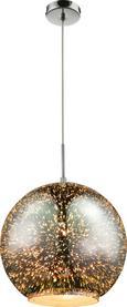 Viseča Svetilka Mailo - Moderno, kovina/steklo (30/120cm) - Premium Living