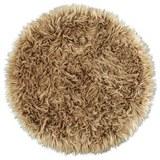 Kunstfell Teddy Beige 80cm - Taupe, Textil (80cm) - Mömax modern living