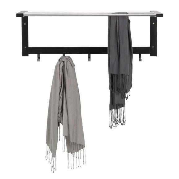 wandgarderobe in schwarz online kaufen m max. Black Bedroom Furniture Sets. Home Design Ideas