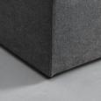 Boxspringbett Korfu 180x200cm inkl. 7-Zonen TTFK-Matratze - Anthrazit, MODERN, Holz/Textil (190/118/215cm) - Bessagi Home