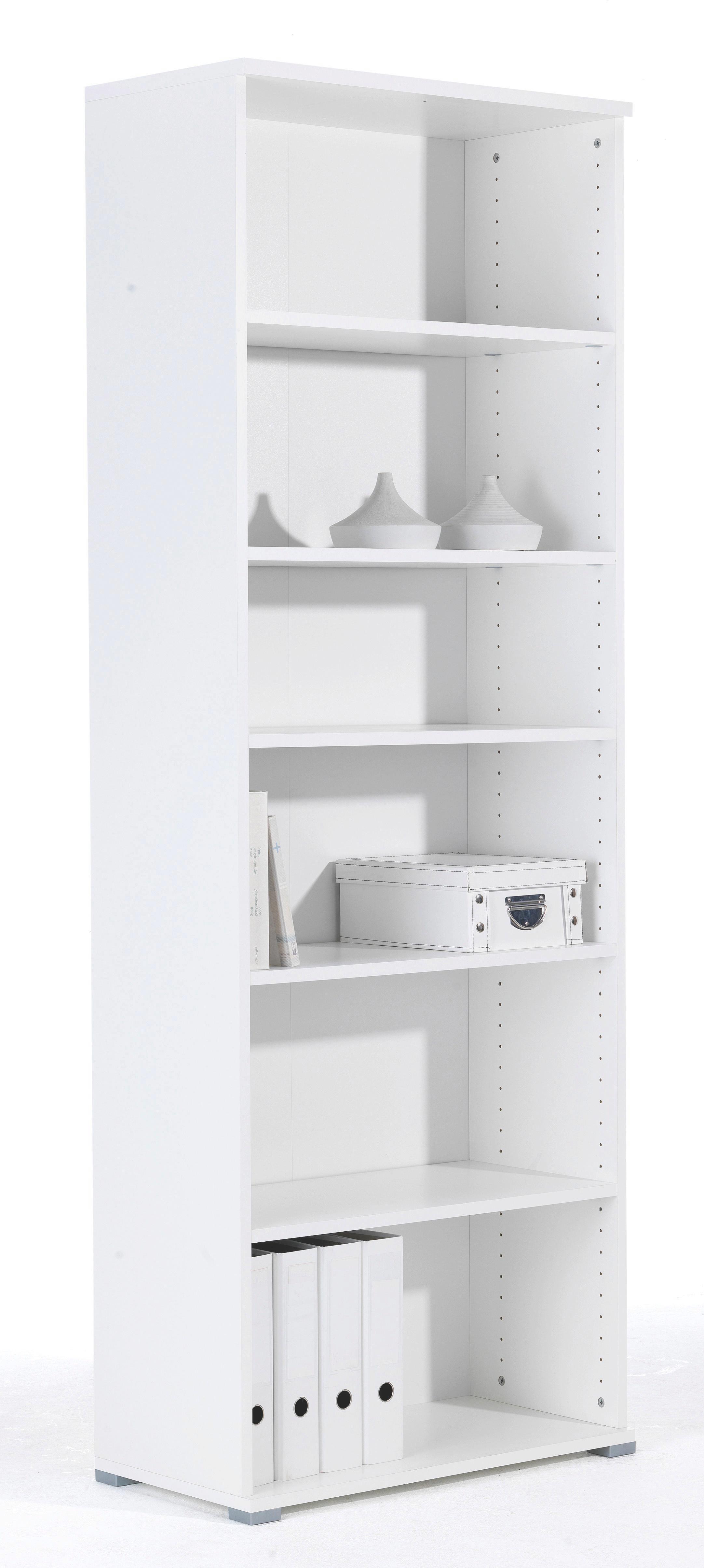 Regal in Weiß - Weiß, Holzwerkstoff (72/198/37cm) - MÖMAX modern living