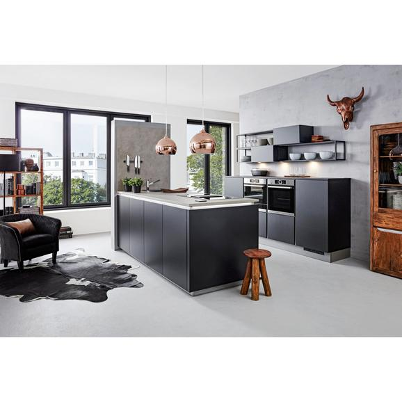 einbauk che nolte feel schwarz online kaufen m max. Black Bedroom Furniture Sets. Home Design Ideas