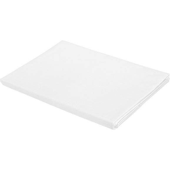 Betttuch Lena Weiß ca. 150x250cm - Weiß, Textil (150/250cm) - Mömax modern living