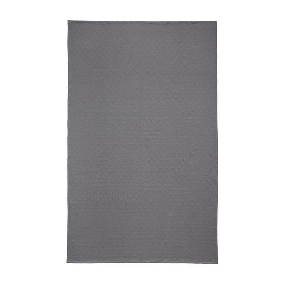 Posteljno Pregrinjalo Bilbao -ext- - siva, tekstil (140/220cm) - Mömax modern living