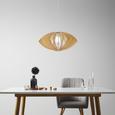 Pendelleuchte Simona - Beige/Naturfarben, MODERN, Holz (54/30cm) - Modern Living