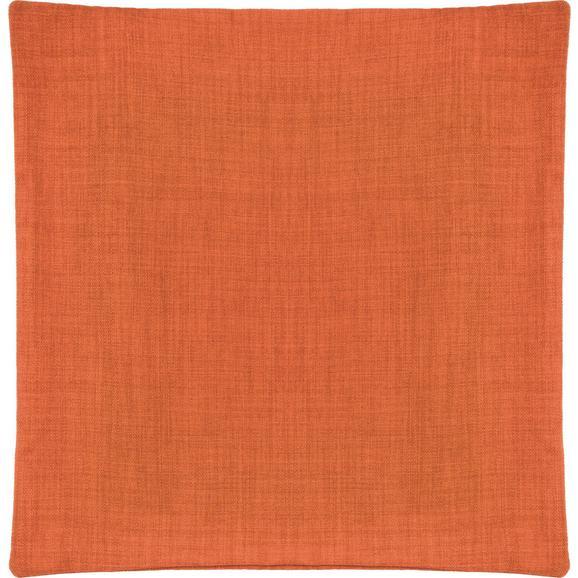 Párnahuzat Leinenoptik 50/50 - Narancs, konvencionális, Textil (50/50cm) - Mömax modern living