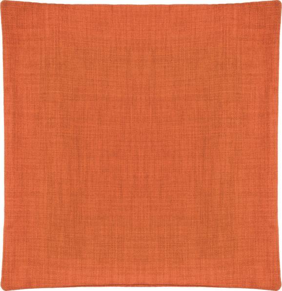 Prevleka Blazine Leinenoptik - oranžna, Konvencionalno, tekstil (50/50cm) - Mömax modern living