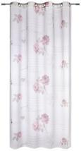 Zavesa Z Obročki Diary Rose - bela, Romantika, tekstil (140/245cm) - Mömax modern living