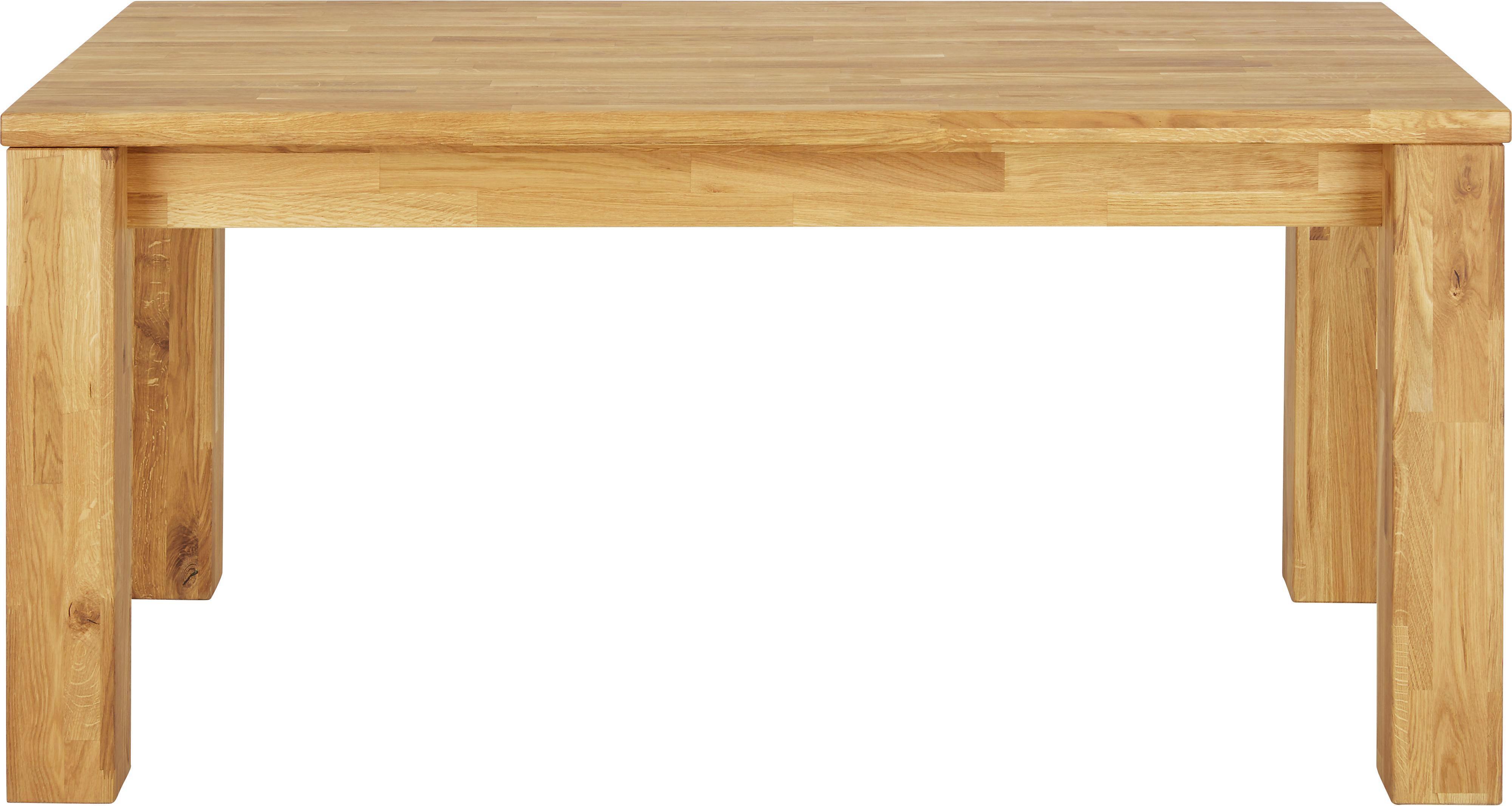 Ausziehtisch In Eichefarben   Eichefarben, MODERN, Holz (160/75,5/