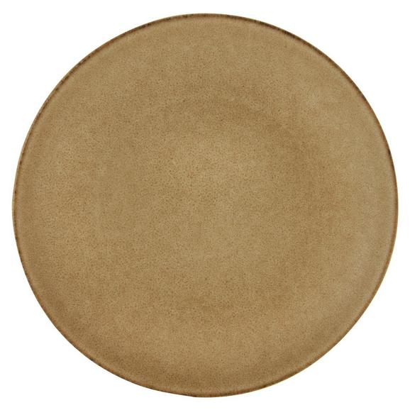 Dessertteller Sahara aus Keramik Ø ca. 21cm - Sandfarben, LIFESTYLE, Keramik (21/21/2,5cm) - Zandiara