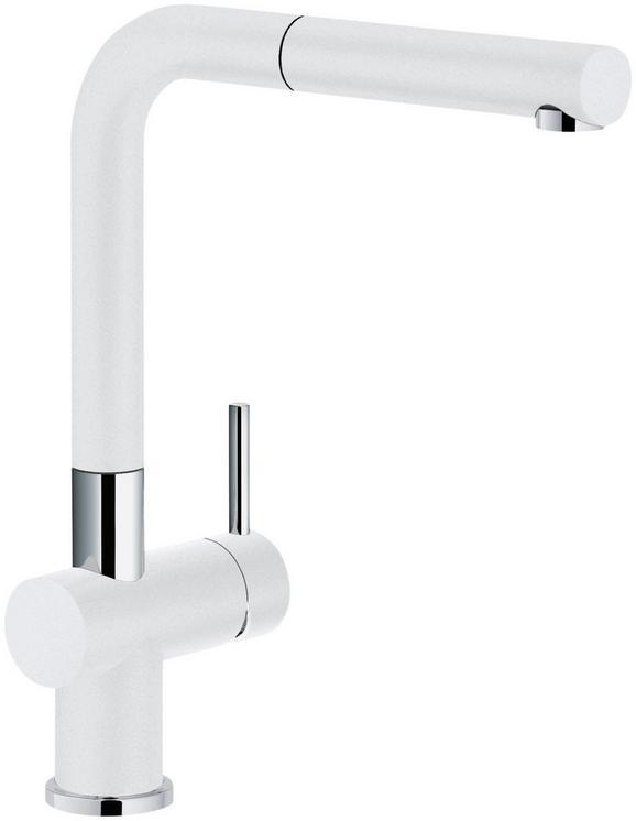 Spültischarmatur 1150373888 in Weiß/Chrom - Chromfarben/Weiß, Metall (31cm) - FRANKE