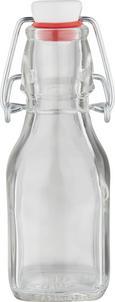 Universalflasche Swing aus Glas mit ca. 0,125l - Transparent, Glas (4,8/15/4,8cm) - MÖMAX modern living