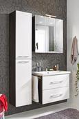 Visoka Omara Karina Ii - temno siva/bela, Moderno, kovina/leseni material (35/180/30cm) - Mömax modern living